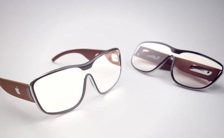 Concepto gafas realidad aumentada Apple