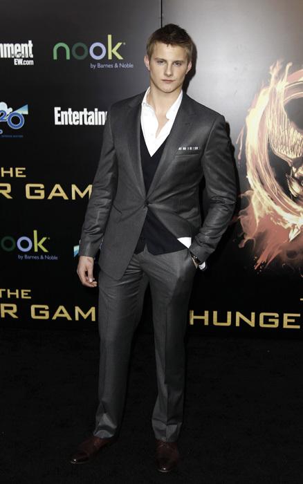 Alexander Ludwig Hunger-Games-Premiere