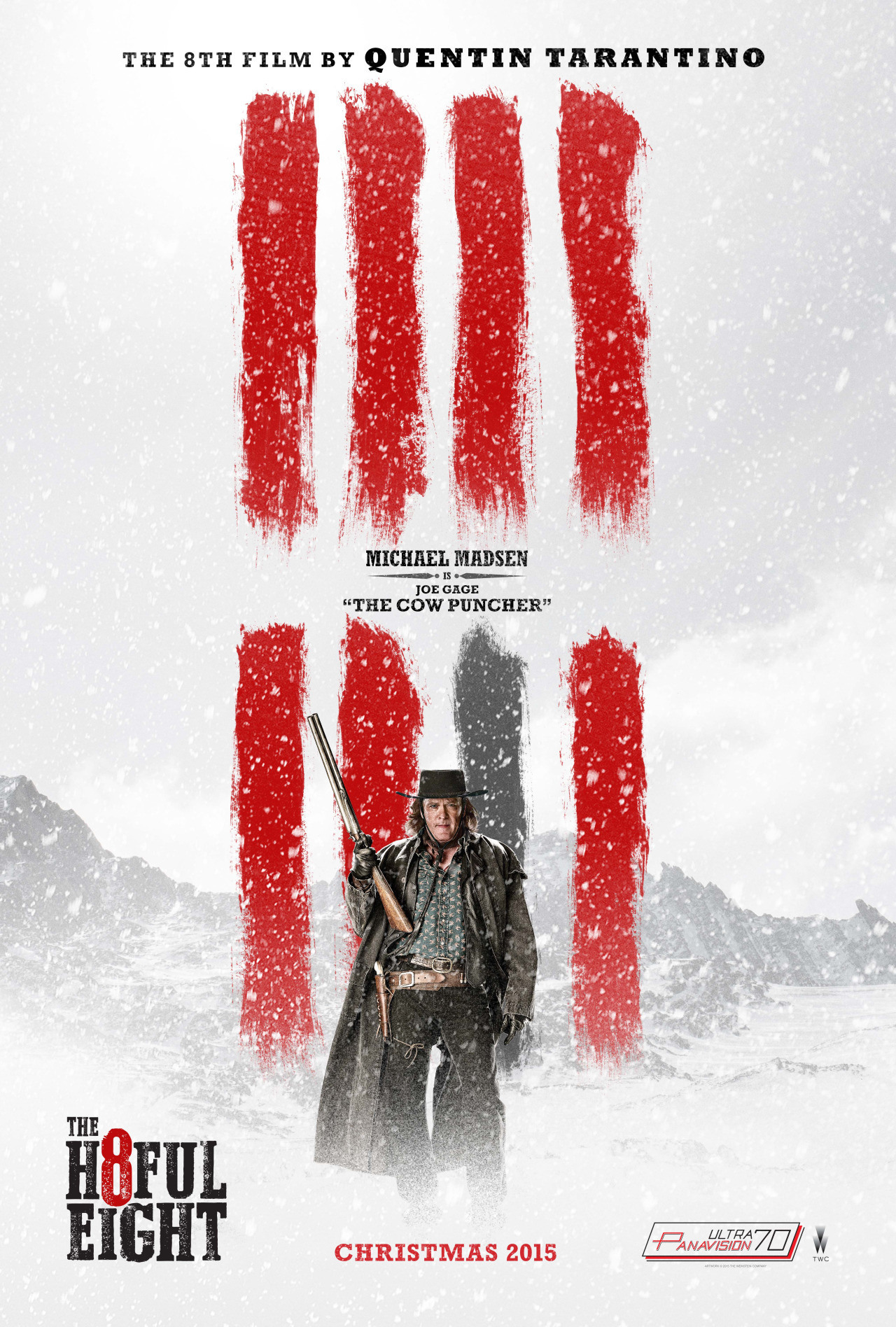 Foto de 'The Hateful Eight', carteles de los protagonistas (5/7)
