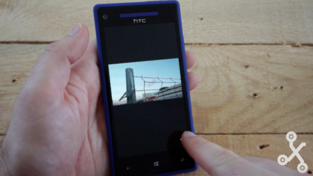 HTC 8X pantalla