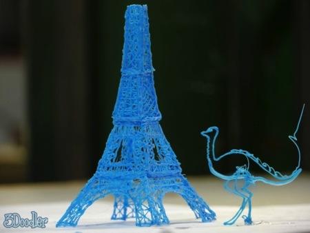 3Doodler, un bolígrafo para dibujar en 3D