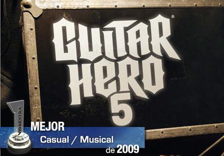 Mejor juego Casual / Musical de 2009 en VidaExtra: 'Guitar Hero 5'
