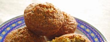 Muffins de naranja y semillas de amapola. Receta