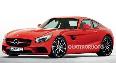 Imaginando el Mercedes-Benz AMG GT / SLC