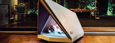 Ford creó una casa para perros con sistema de cancelación de ruido para mantenerlos descansados y libres de estrés