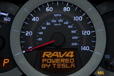 Anticipo del Toyota RAV4 eléctrico en Los Ángeles