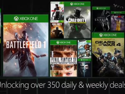 Final Fantasy XV, Dishonored 2, Battlefield 1... ojito a las rebajas de Xbox que comienzan el 22 de diciembre