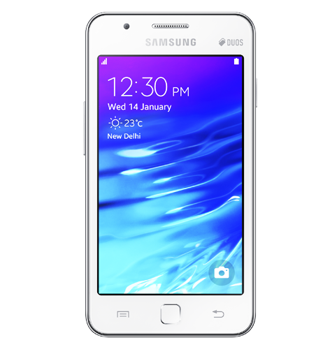 Samsung Z1 Front White