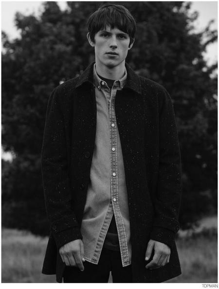 Topman Coat Fall 2014 Campaign 003