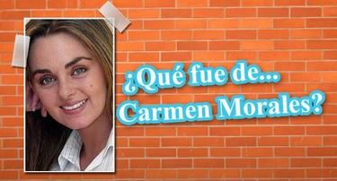 """¿Qué fue de Carmen Morales, María en """"Al Salir de Clase""""?"""