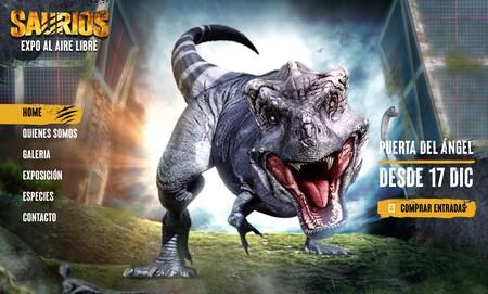 Los dinosaurios llegan a Madrid: exposición Saurios