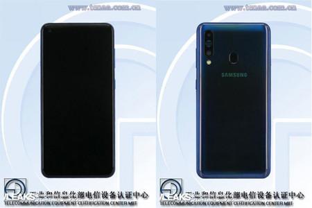 El Samsung Galaxy A60 pasa por TENAA confirmando la triple cámara trasera y hasta 8 GB de RAM