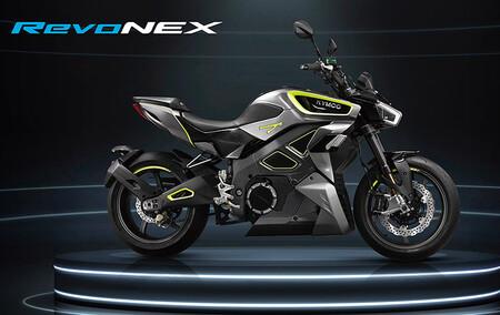 Kymco Revonex Moto Electrica Fabrica Italia 2021 2