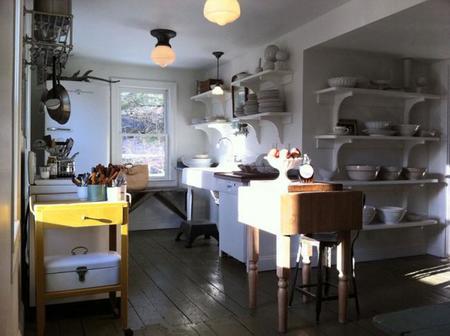 Armarios con o sin puertas en la cocina? La pregunta de la semana