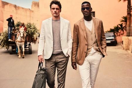 Marrakech: tonos tierra, lino y punto en la exótica colección de Mango para el verano