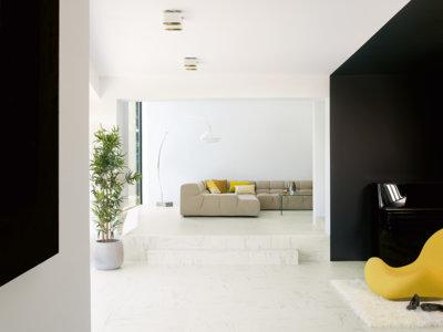 Eligiendo suelos para un interior minimalista