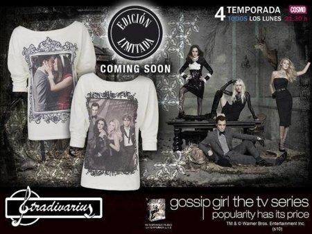 Camisetas Gossip Girl de Stradivarius