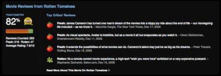 iTunes incluye las puntuaciones de Rotten Tomatoes en sus películas