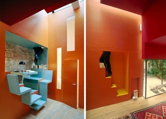 Grandes soluciones en un peque o apartamento de 35 metros for Soluciones apartamentos pequenos