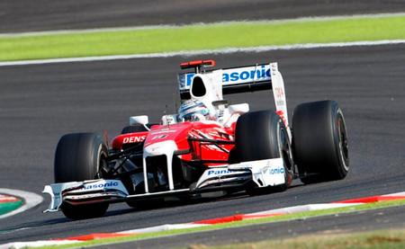 Jarno Trulli Toyota F1 2009
