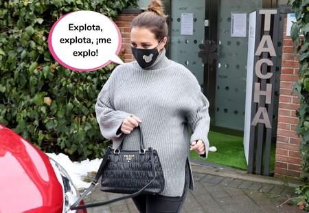 Paula Echevarría no se corta y cuenta cuántos kilos ha engordado durante el embarazo (y su truco que sustituye al bótox)