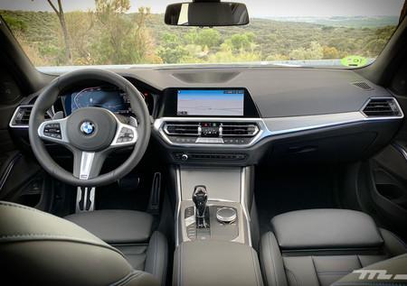 BMW 330i interior