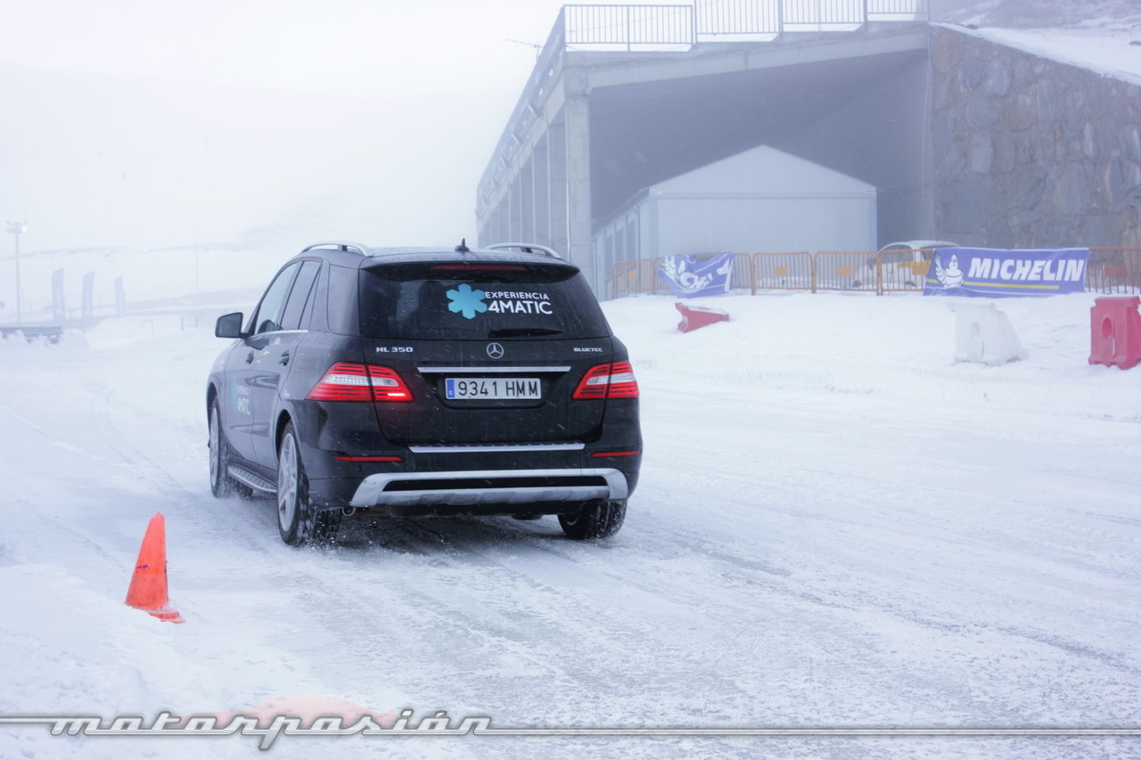 Foto de Michelin Pilot Alpin y Michelin Latitude Alpin, Experiencia 4Matic (24/27)