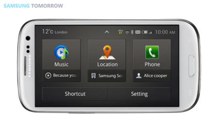 Samsung Drive Link, la interfaz para viajeros de Samsung