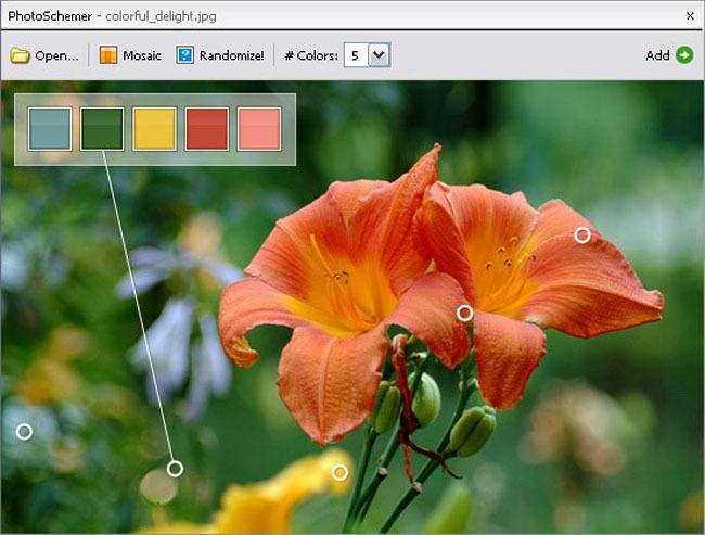 Programa selector de color