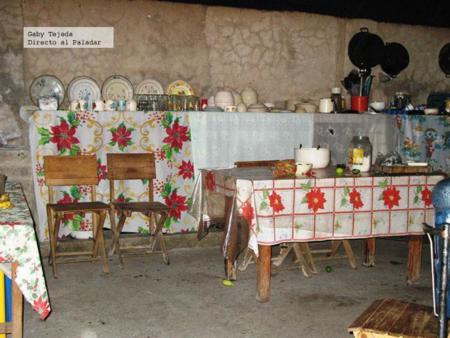 Composición y menaje de algunas cocinas rurales o antiguas