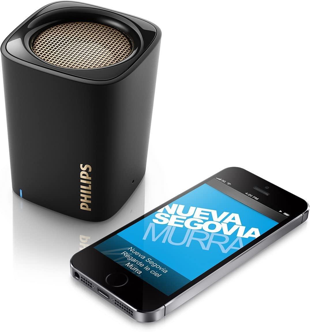 Mini bocinas Philips con cupón de 20% de descuento disponible