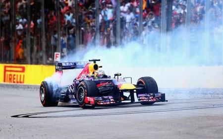 La FIA aprueba los donuts para el ganador en la Fórmula 1
