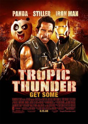 'Tropic Thunder', nuevo póster de auténtico cachondeo