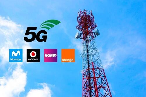 Así avanza el 5G en España: amplia cobertura en Movistar, Orange y Yoigo, pero más rápido en Vodafone