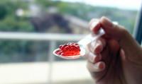 La frutacopiadora, una impresora que imprime fresas y otras frutas