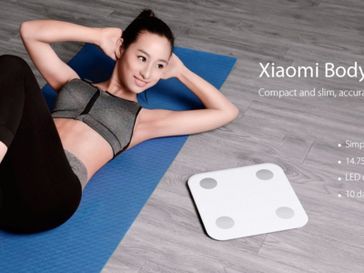Cupón de descuento: báscula Xiaomi Mi Smart Scale 2 por 48,37 euros