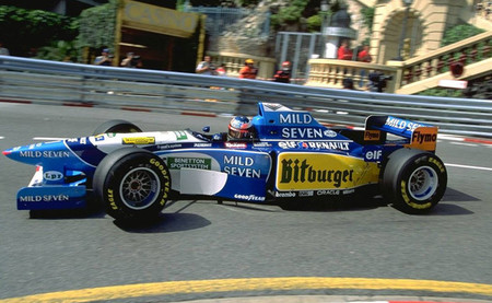 Michael Schumacher Benetton B195 GP Mónaco