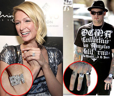 Los anillos de Paris y Benji