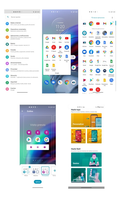 Moto G100 Con Android 11