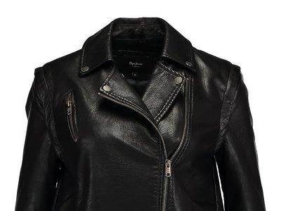 La chaqueta de cuero sintético Bona de Pepe Jeans está por 62,95 euros en Zalando