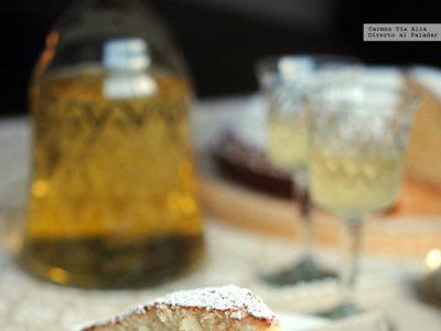 Bizcocho de vino dulce y limón. Receta