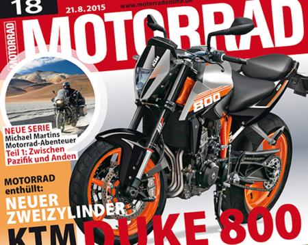 Pillada la nueva KTM Duke 800, y otros tantos proyectos austriacos
