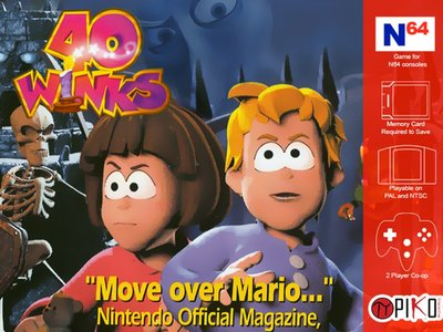 40 Winks logra financiarse en KickStarter para Nintendo 64 en tan solo un día