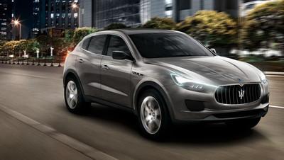 El Maserati Levante, listo para producción en 2015