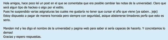 Window Y Cambio De Notas Universitarias Urge 2