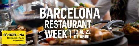 """La tercera edición del """"Barcelona Restaurant Week"""" ya está en marcha"""