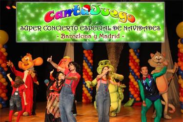 Superconcierto de Navidad con CantaJuego