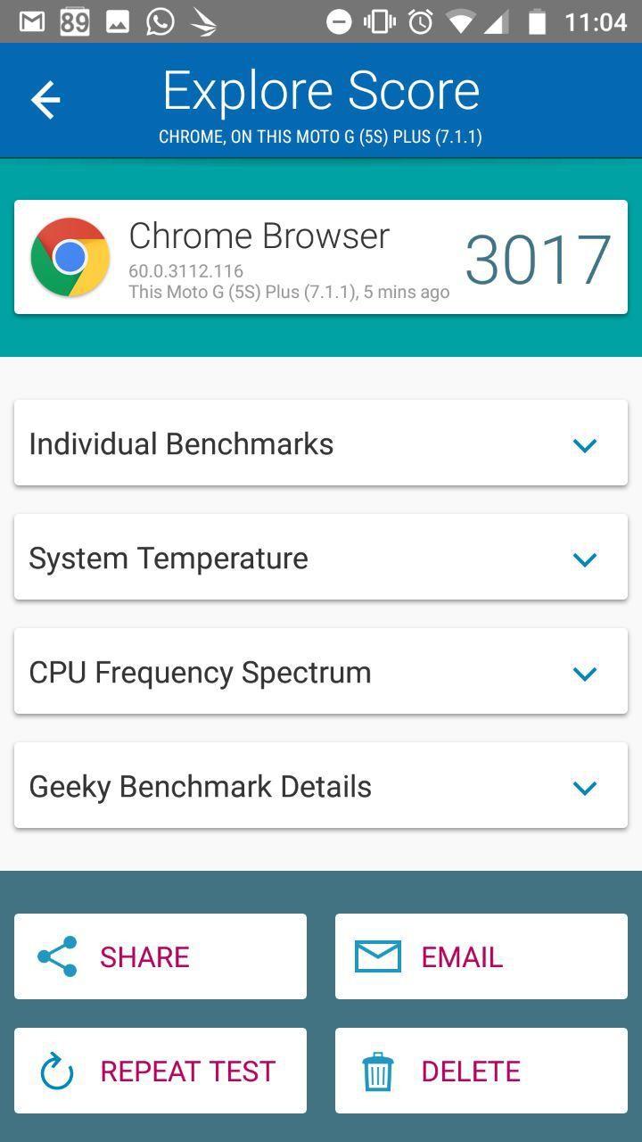 Foto de Benchmarks Moto G5S Plus (1/12)