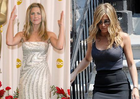 Jennifer Aniston aumenta su pecho...sin pasar por el quirófano
