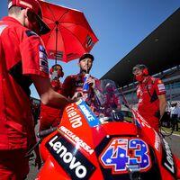 El gatillazo de Jack Miller en su gran oportunidad con Ducati: solo catorce puntos y una caída en tres carreras